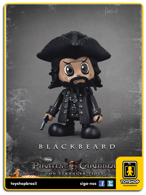 Pirates of The Caribbean : Cosbaby Black Beard - Hot Toys