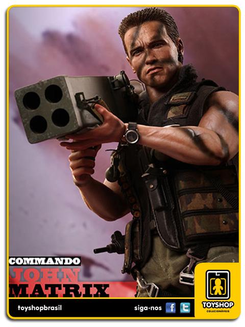 Commando: John Matrix 1/6 - Hot Toys