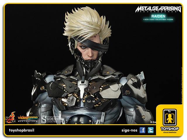 Metal Gear Rising: Revengeance Raiden 1:6 - Hot Toys