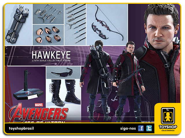 Avengers Age of Ultron: Hawkeye - Hot Toys