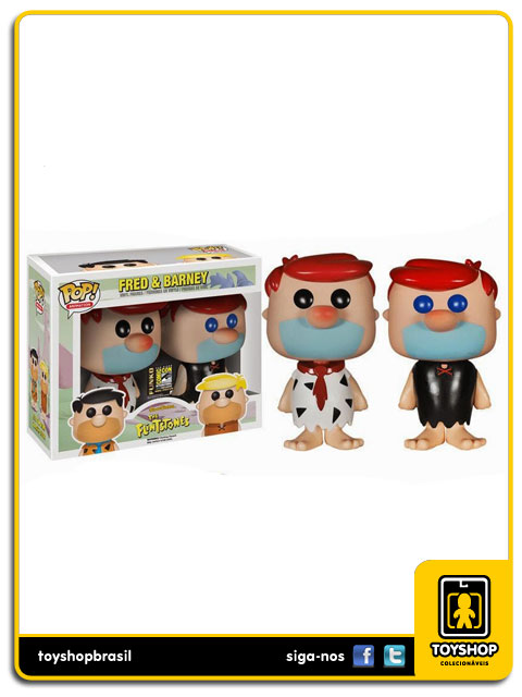 The Flintstones: Fred & Barney Pop - Funko