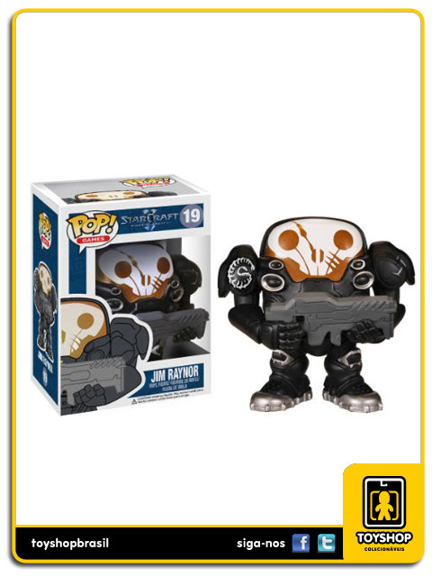 Star Craft: Jim Raynor  Pop - Funko
