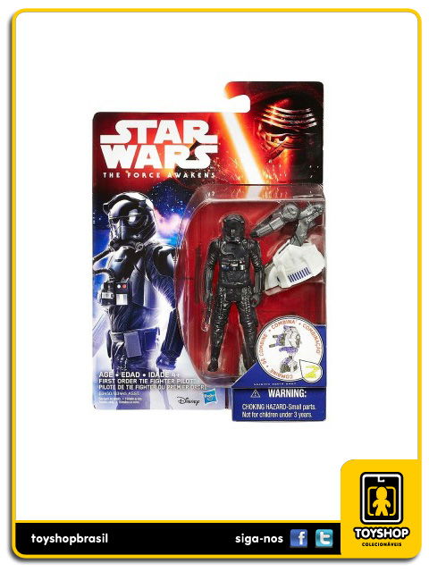 Star Wars The Force Awakens: First Order Tie Fighter Pilot - Hasbro