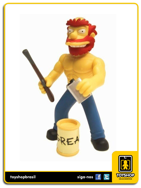 The Simpsons: Ragin´Willie - Playmates