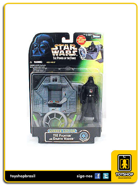 Star Wars The Power of the Force: Darth Vader Gunner Station - Hasbro