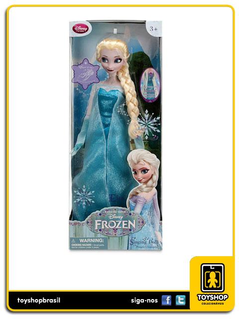 Frozen:  Elsa Singing Doll - Disney Store