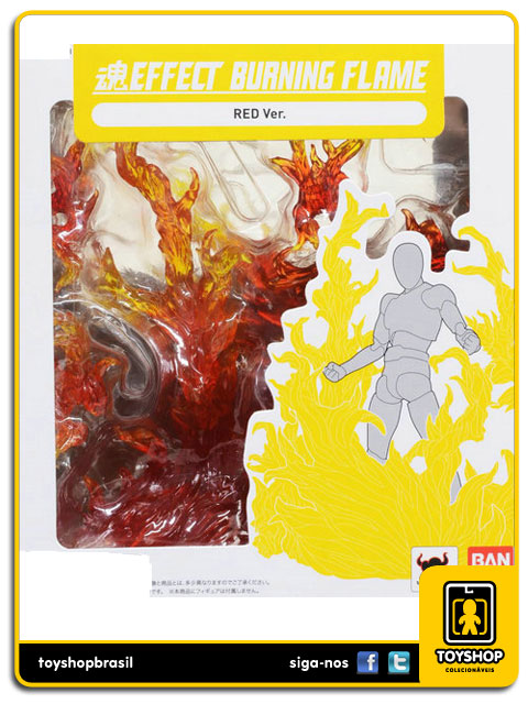 Tamashii Effect Burning Flame: Red Ver - Bandai