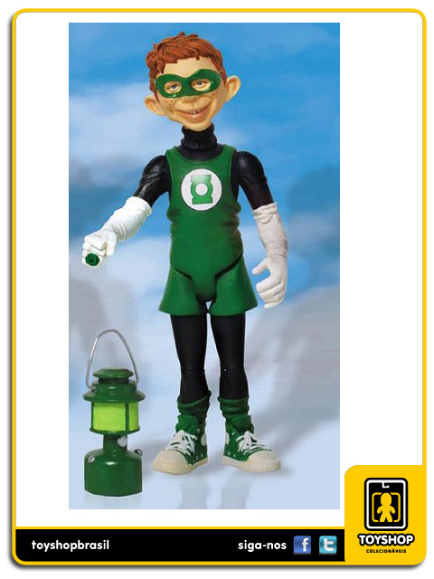 Mad:Alfred E.Neuman as Green Lantern :Dc Direct