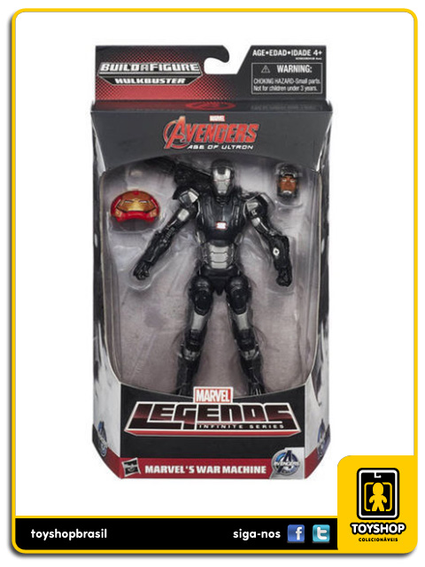 Marvel Legends Infinite Hulkbuster: War Machine - Hasbro
