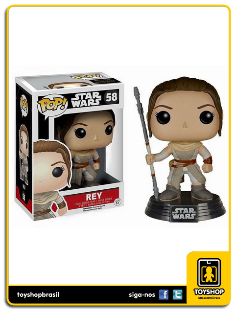 Star Wars The Force Awakens: Rey  Pop - Funko