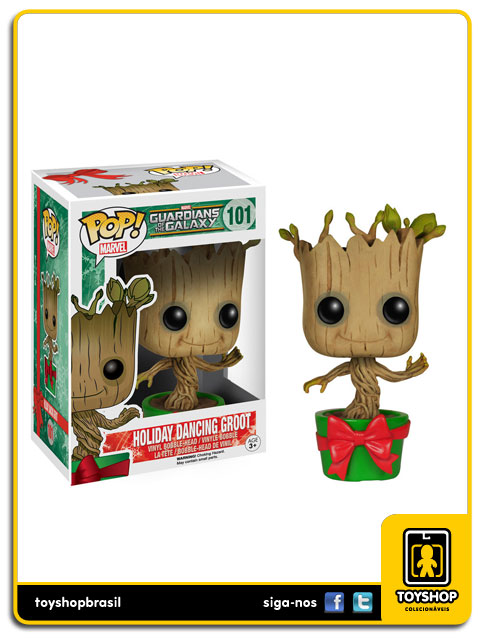 Guardians of the Galaxy: Holiday Dancing Groot Pop - Funko