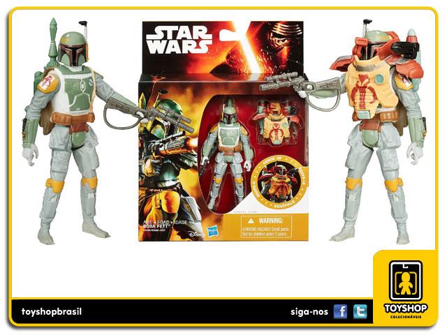 Star Wars The Force Awakens: Boba Fett Armor Up - Hasbro