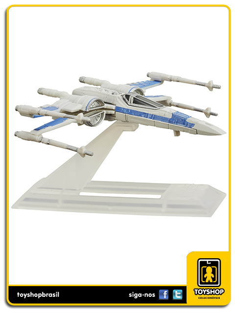 Star Wars The Black Series Titanium: X-Wing de la Résistance - Hasbro