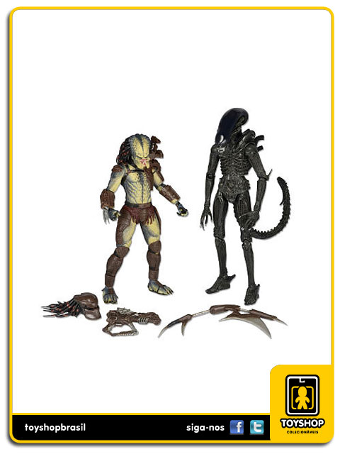 Aliens vs Predator: 2-Pack Dark Horse - Neca