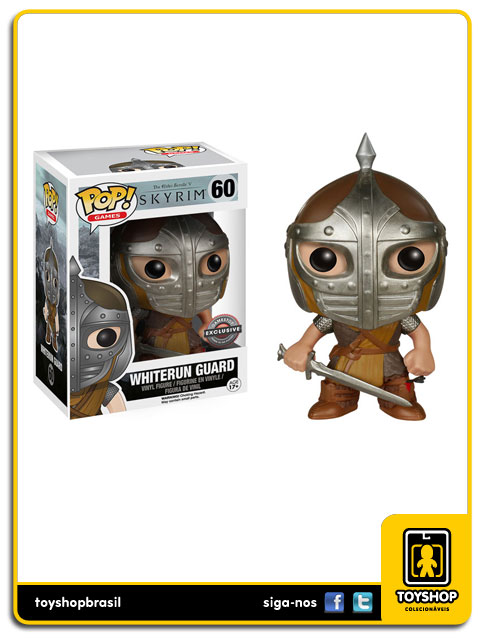 Skyrim: Whiterun Guard Gamestop Exclusive Pop - Funko