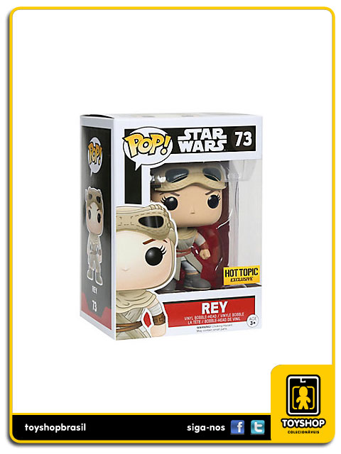 Star Wars The Force Awakens: Rey Hot Topic Exclusive Pop - Funko