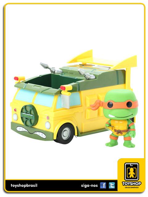 Teenage Mutant Ninja Turtles: Turtle Van Pop - Funko