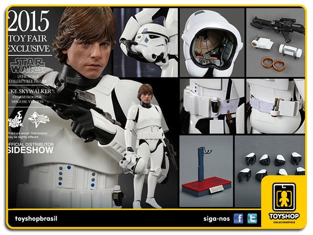 Star Wars: Luke Skywalker Stormtrooper Disguise - Hot Toys