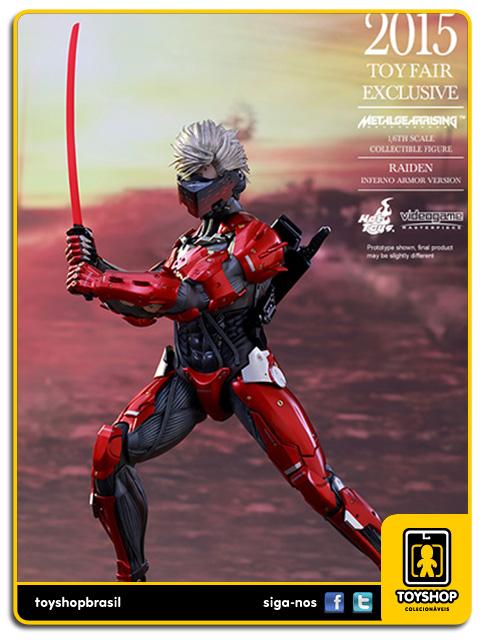 Metal Gear Rising: Raiden Inferno Armor - Hot Toys