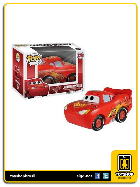 Disney Cars: Lightning McQueen  Pop - Funko