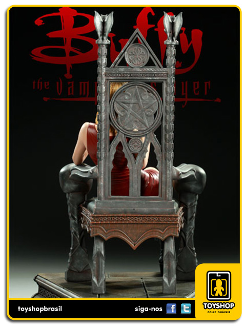 Buffy: Throne of the Slayer Maquette - Sideshow Collectibles