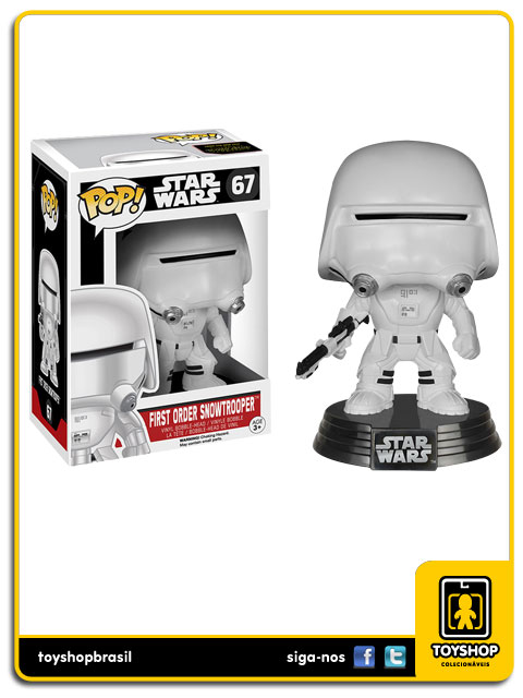 Star Wars The Force Awakens: First Order Snowtrooper Pop - Funko