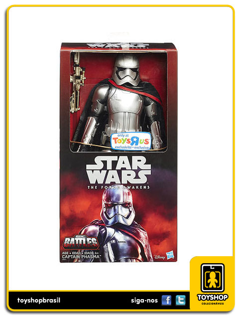Star Wars The Force Awakens: Captain Phasma Disney - Hasbro