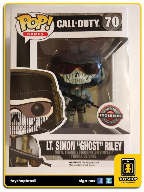 Call of Duty: LT.Simon ¨Ghost¨ Riley GameStop Exclusive  Pop - Funko
