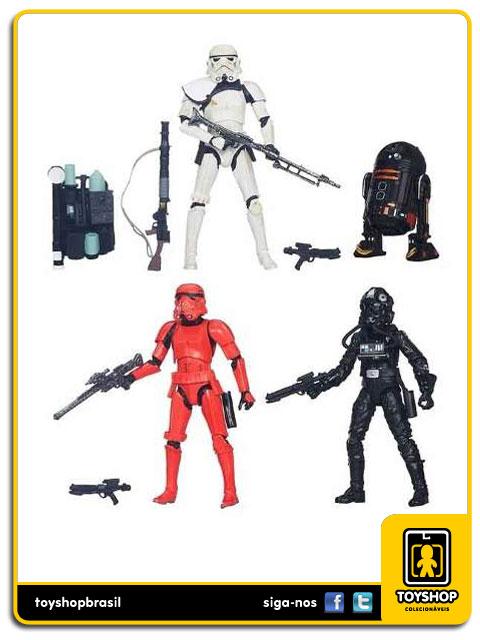 Star Wars Imperial Forces Black Series: Box 4 Figuras Exclusivo Hasbro