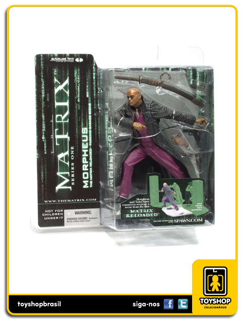 Matrix: Morpheus Reloaded - Mcfarlane
