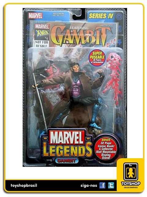 Marvel Legends Series IV: Gambit - Toy Biz