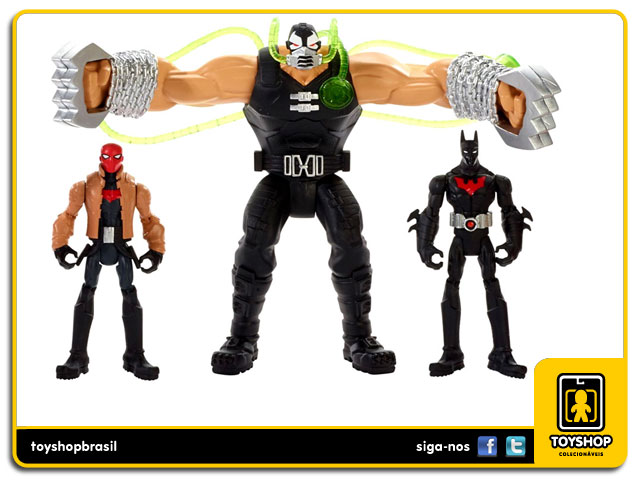 Batman Unlimited Gotham City Bane Battle: Box Set 7 figuras - Mattel