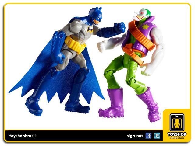 Batman Unlimited Gotham City Tunnel Takedown: Box Set 7 figuras - Mattel