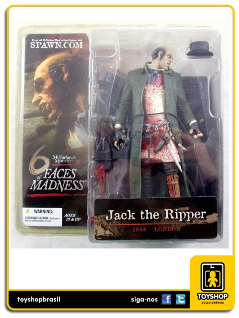 Six Faces of Madness: Jack the Ripper - Mcfarlane