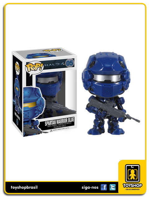 Halo 4: Spartan Warrior Blue  Pop - Funko