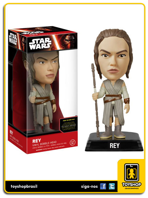 Star Wars The Force Awakens: Rey Bobble Head - Funko