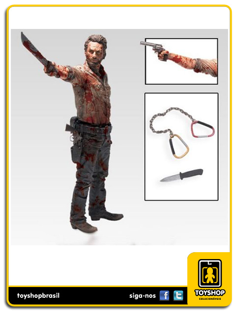 The Walking Dead: Rick Grimes Vigilante Edition 10´ - Mcfarlane