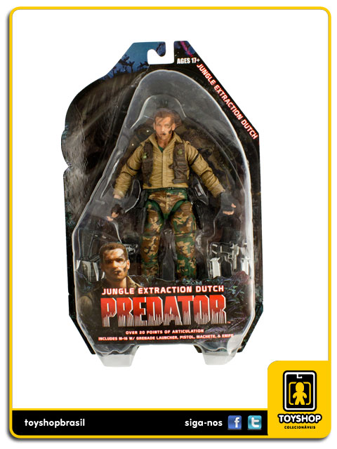Predator: Jungle Extraction Dutch - Neca