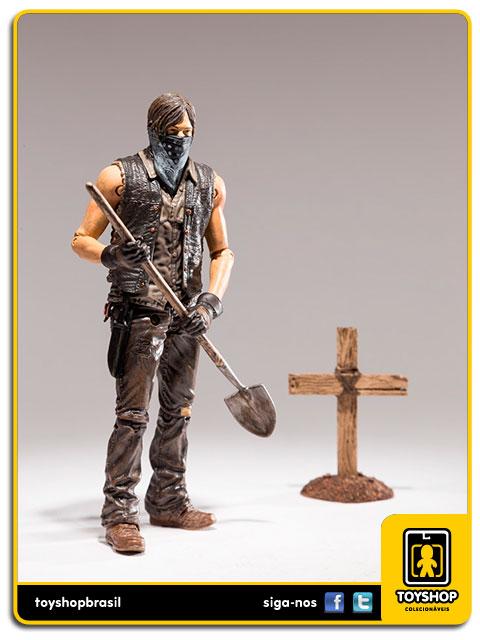 The Walking Dead 9: Grave Digger Daryl Variant - Mcfarlane