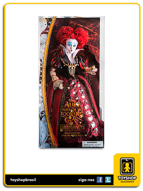 Alice Through The Looking Glass: Queen of Hearts Doll - Disney Store