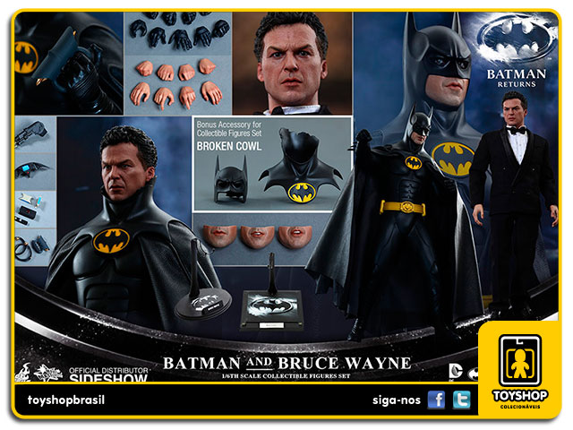 Batman Returns: Batman and Bruce Wayne Set - Hot Toys