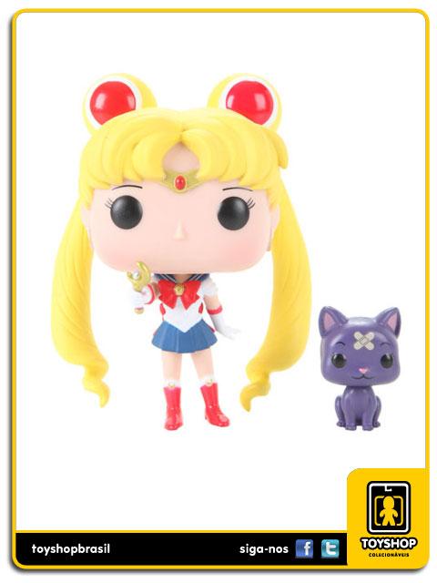 Sailor Moon: Sailor Moon with moon Stick & Luna Hot Topic Exclusive  Pop - Funko