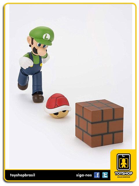 Super Mario Bros S.H. Figuarts: Luigi - Bandai