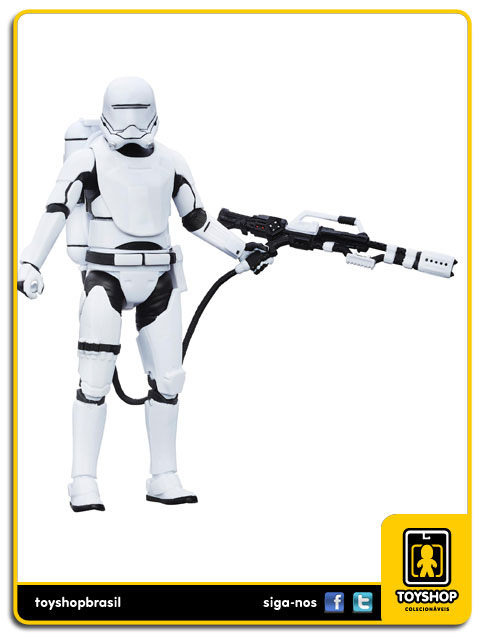 Star Wars The Force Awakens Black Series: First Order Flametrooper - Hasbro