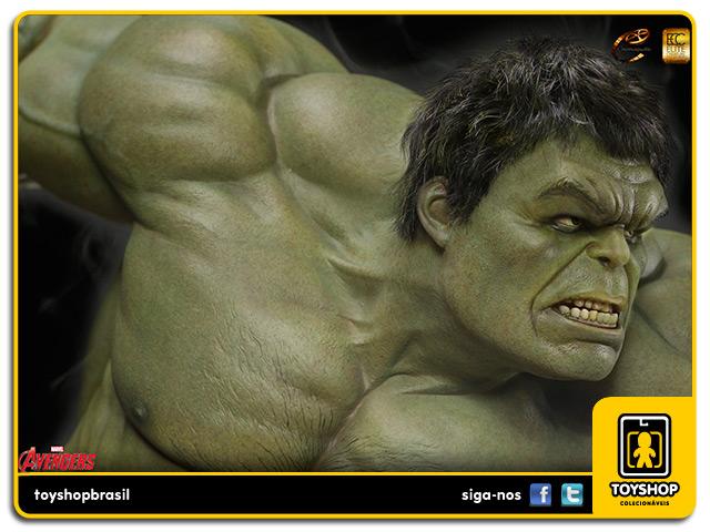 Avengers Age of Ultron: Hulk 1/3 Scale Maquette - Cinemaquette