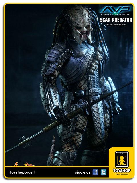 AVP Alien vs Predator: Scar Predator - Hot Toys