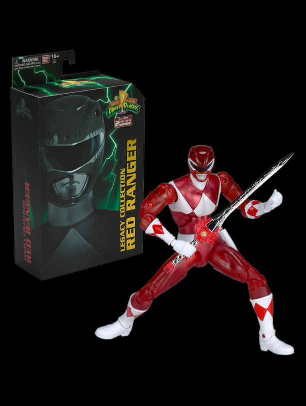 Power Rangers: Legacy Collection Red Ranger SDCC - Bandai