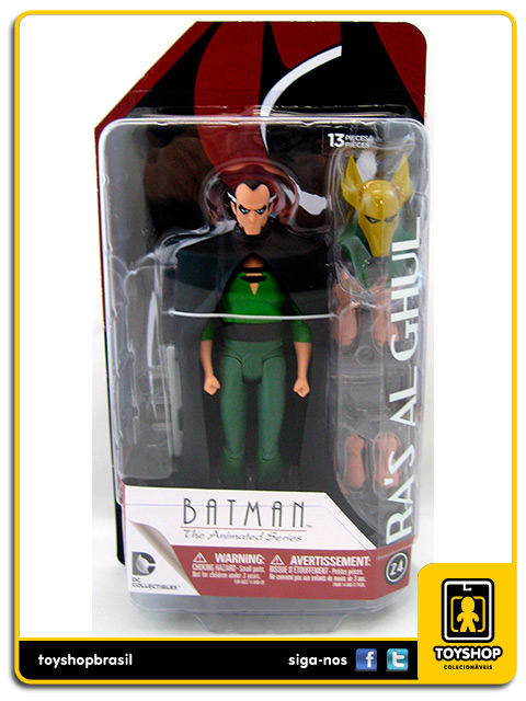 Batman The Animated Series: Ra´s AlGhul - Dc Collectibles