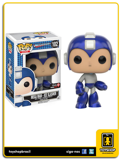 Mega Man: Mega Man - Ice  Slasher GameStop Exclusive  Pop - Funko