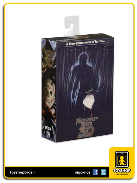 Friday The 13th Part 3 Ultimate Jason 3D  Neca